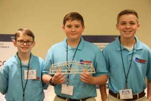 Guntown MS Middle School team wins at national competition