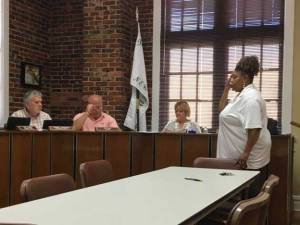 Mew Albany MS City board 7May2019 break a tie