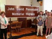 New Albany MS Pennebaker Memorial Highway dedication
