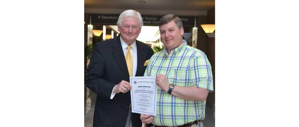 New Albany MS Don Shaffer CHEP certified