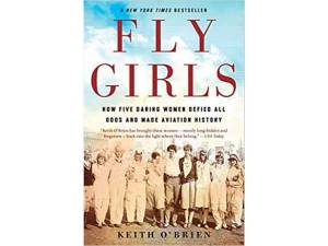 New Albany MS Fly Girls Luncheon with books