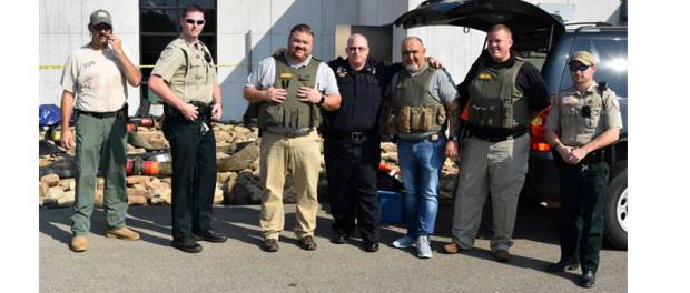 New Albany MS active shooter exercise