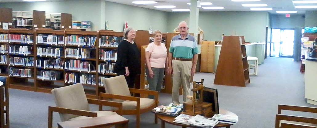 New Albany, MS Class of 54 gifts library