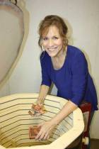 New Albany MS Journey in Clay teacher Gail Morton