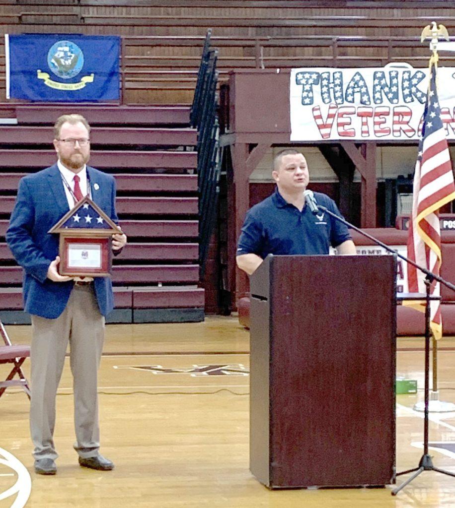 Middle School principal speaks