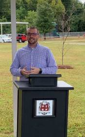 New Albany MS former teacher honored with tree planting