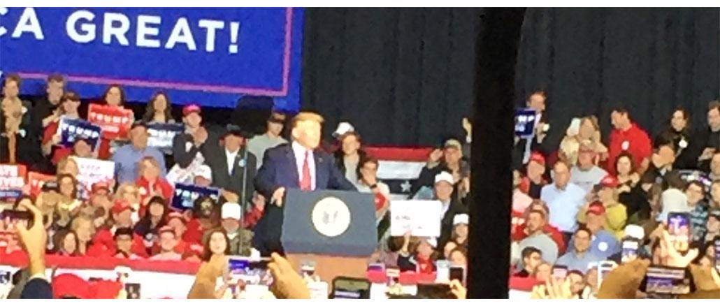 New Albany MS Trump in Tupelo