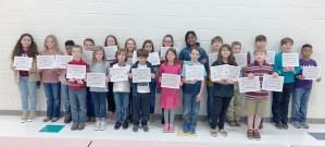 third grade perfect scores