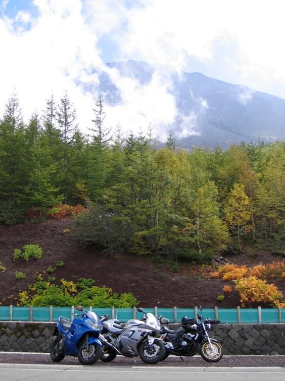 Bike Tour up to stage five near mount Fuji