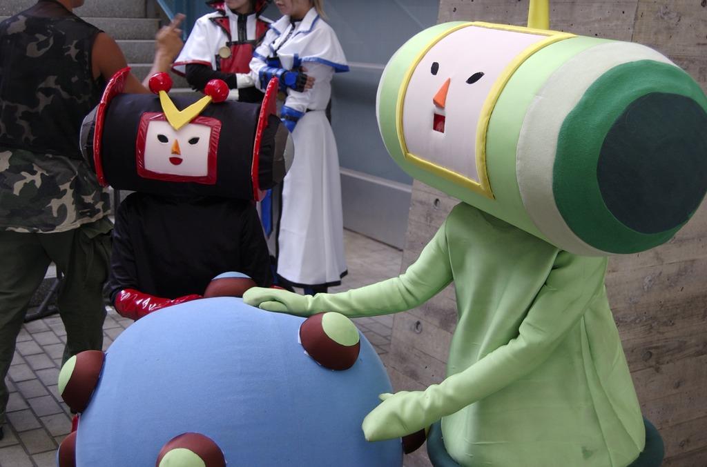 Tokyok Game Show 2007 has cosplay for katamari
