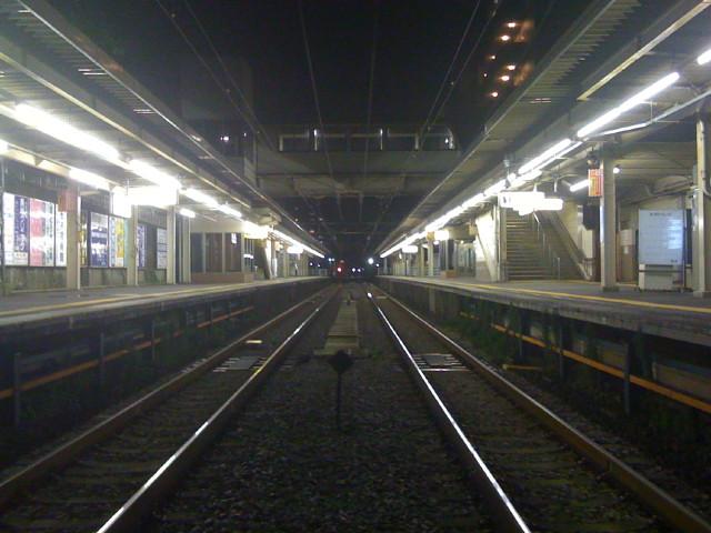 The penultimate train
