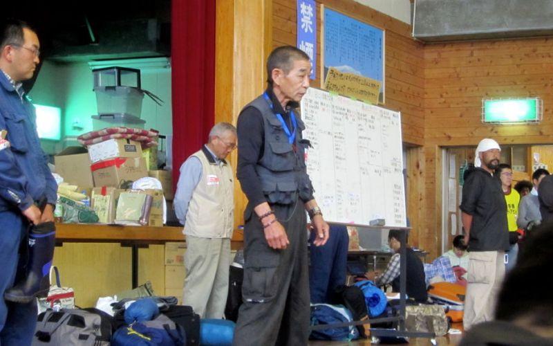 Volunteering preparation meeting
