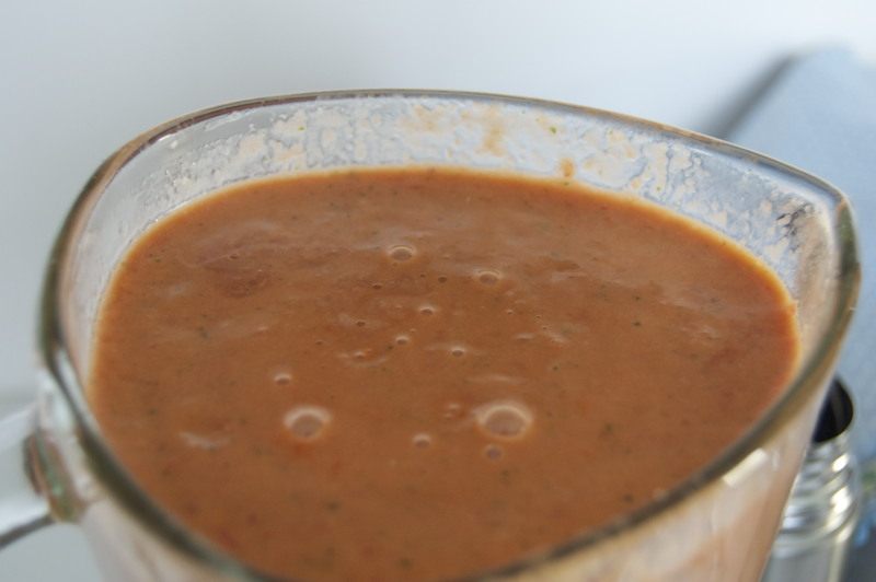 Blended Gazpacho