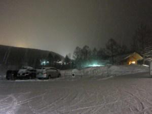 Carparks at night