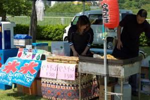 The yakisoba stall