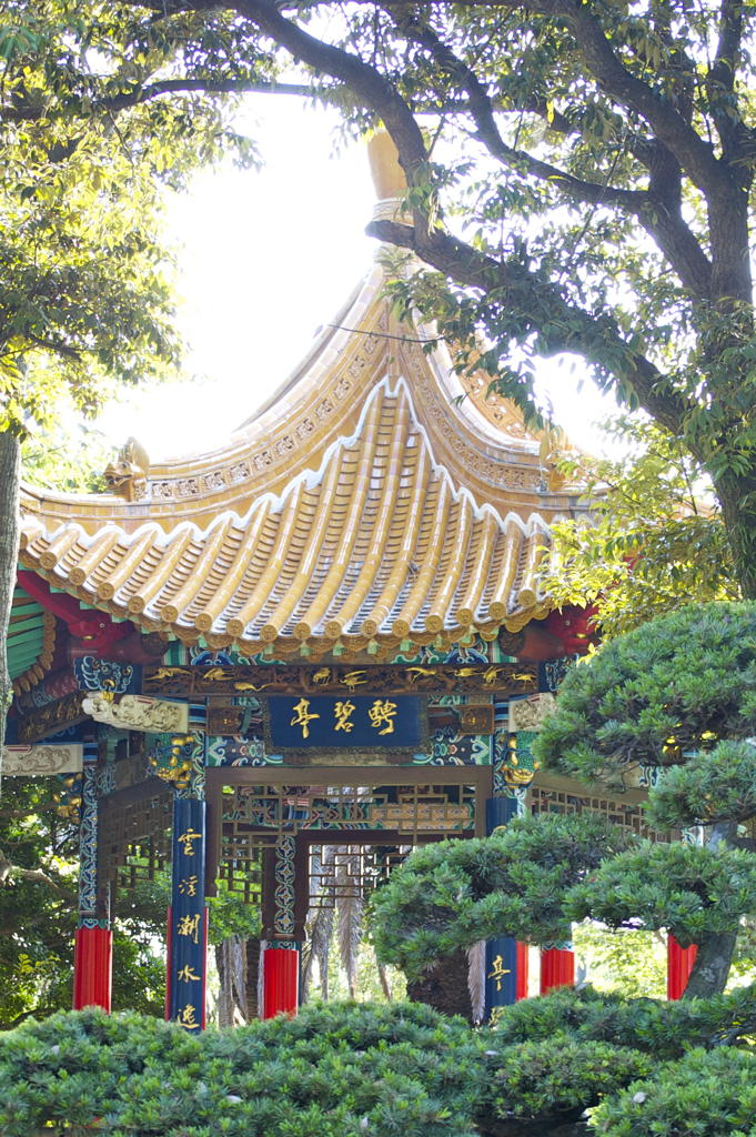 One of many temple buildings on Enoshima