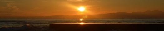 Shonan Winter Sunset