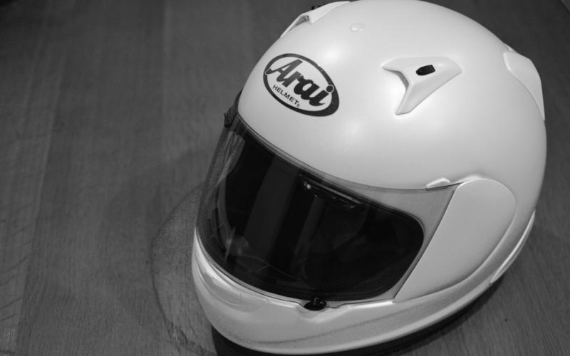 Astro IQ in white - my new helmet