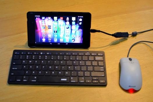 Nexus 7 as laptop