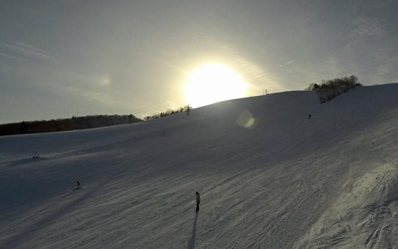 On slope