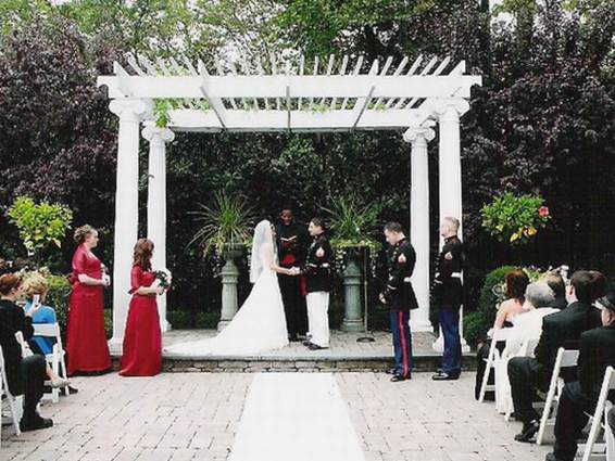 Outdoor weddings nj
