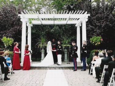 Outdoor weddings nj