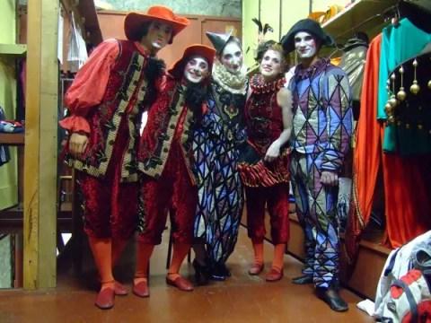 acrobati del Barbiere di Seviglia