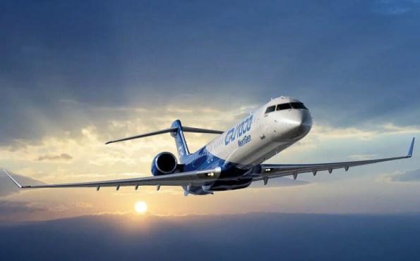 Bombardier-CRJ1000-aereo