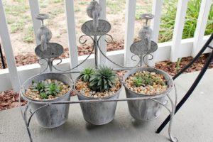 french spigot planter