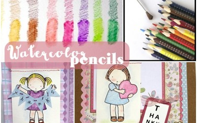 Watercolor Cards Made Simple – Using Pencils!
