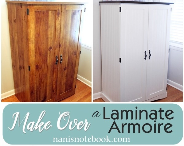Laminate Cabinet Makeover