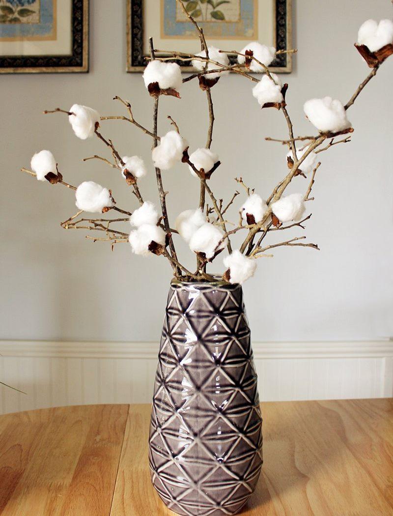 DIY Cotton Stems