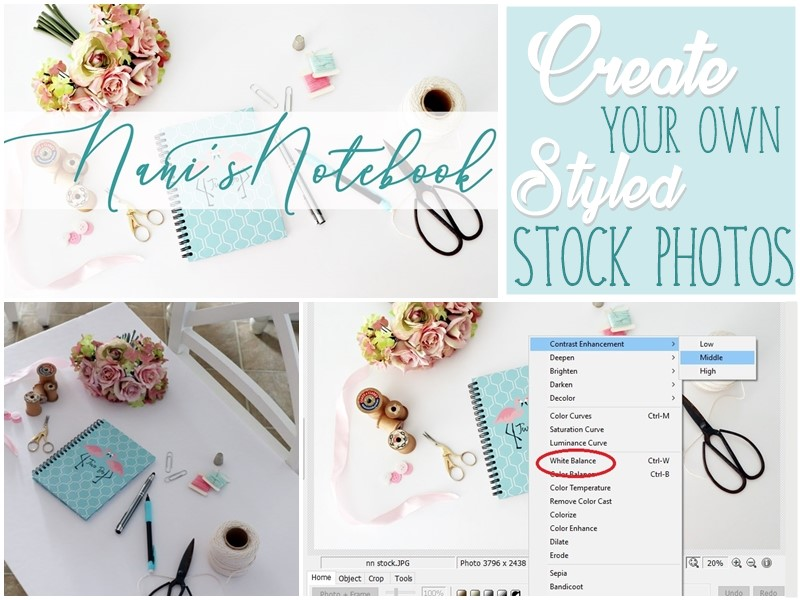 Create Your Own Styled Stock Photos