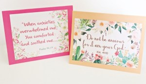 DIY note cards