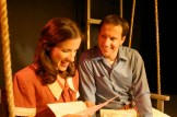 """Staci Armao as May and Gary Clemmer as Raleigh in Actors Co-op production of """"Last Train to Nibroc"""" by Arlene Hutton, Directed by Nan McNamara"""
