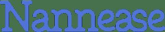 nannease logo blue