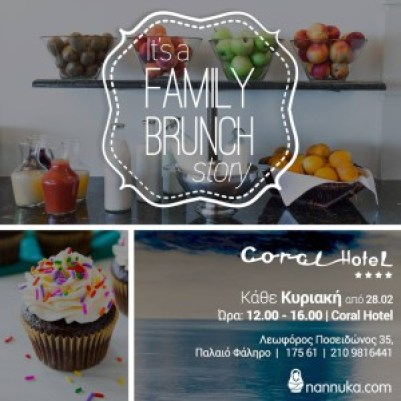 coral hotel family brunch