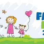 H Nannuka ζωγραφίζει με τα παιδιά στη Family Fun Day!