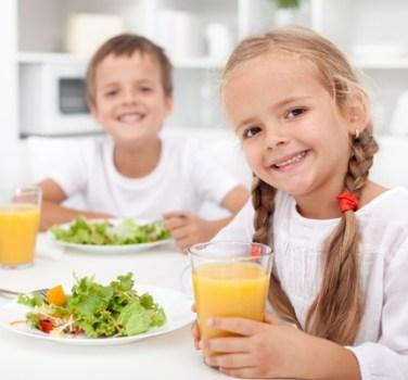 Παιδιά και καλή διατροφή