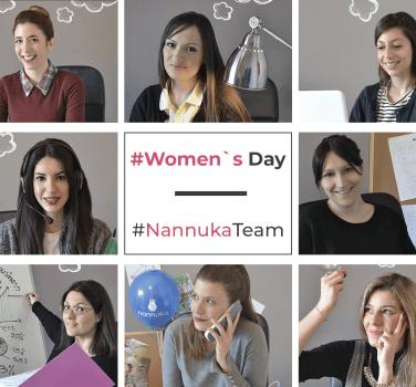 Οι γυναίκες της Nannuka είναι μαζί σας women'sday