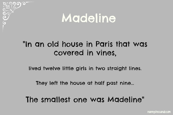 madeline, french, lessons, friday, nanny, shecando, cooking