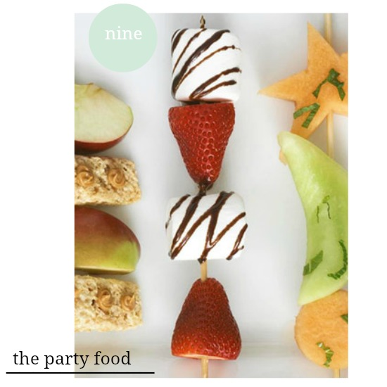 the party food