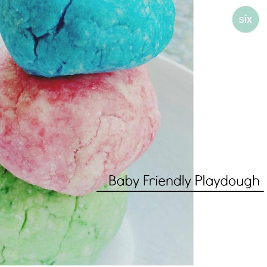 DIY Baby Playdough