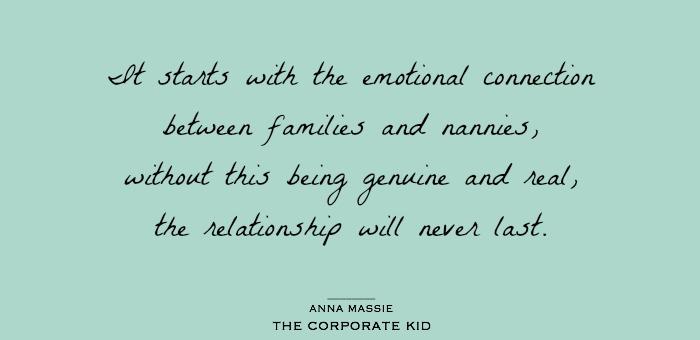 Anna Massie, The Corporate Kid, Nanny Shecando
