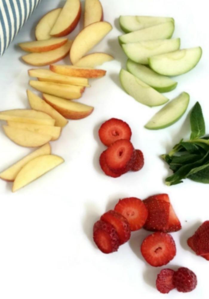 Frozen Fruit Ice Cubes, Nanny Shecando, Care Academy