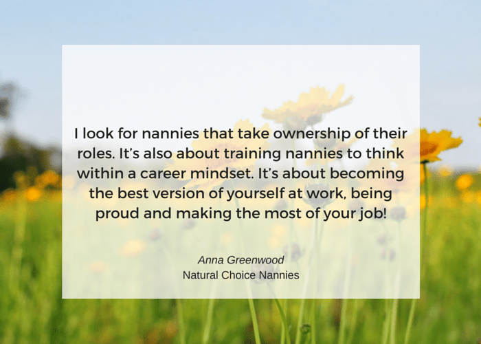 Interview Anna Greenwood Natural Choice Nannies, NANNY SHECANDO