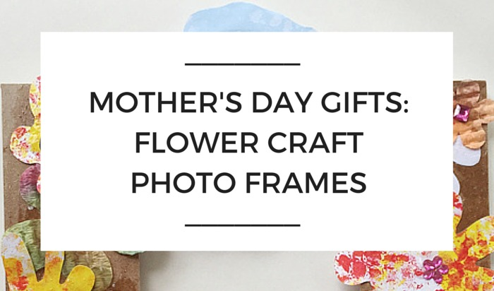 Mother\'s Day Gifts: Flower Photo Frames