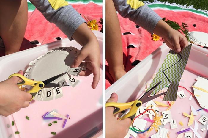 Make This Preschooler DIY Cutting Station, School Readiness, Back To School, Olivia Foster, NANNY SHECANDO
