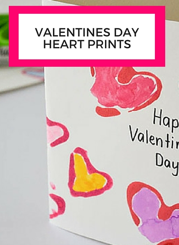 Make These Valentines Day Heart Prints