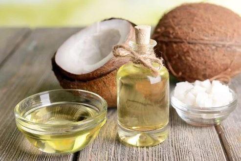 plenty of coconut oil